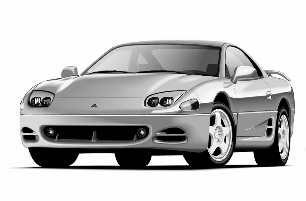Кузовной ремонт и покраска Митсубиси 3000 Джи Ти