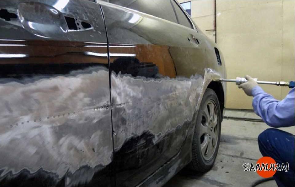 Лакокрасочный ремонт автомобиля своими руками