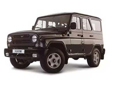 Кузовной ремонт и покраска УАЗ Хантер