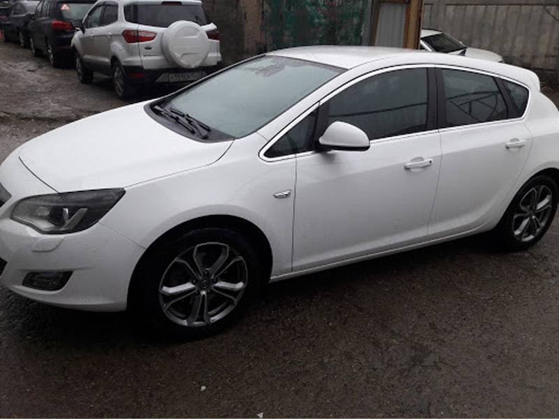 Кузовной ремонт Opel Astra Turbo